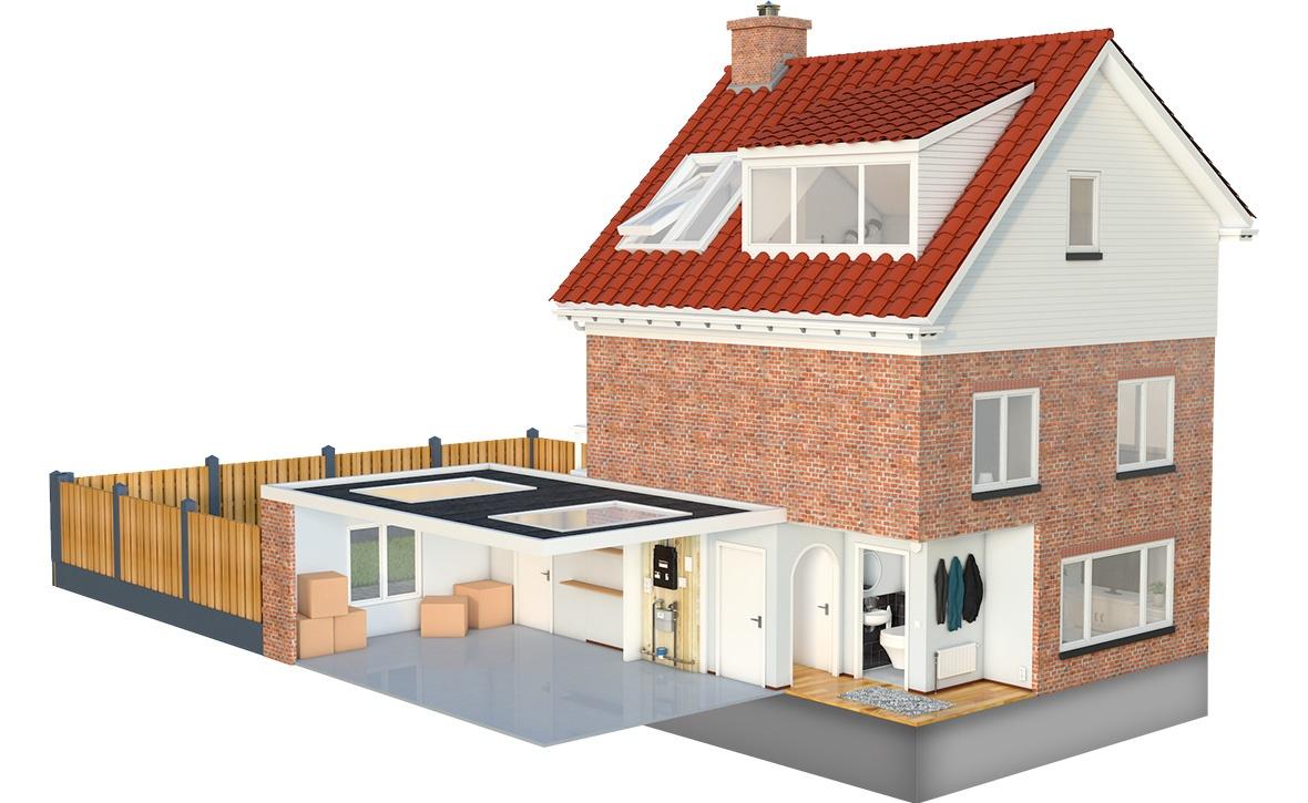 Uw Huismeester, 3D Huis Visualisatie | Luc Versleijen, Freelance ...