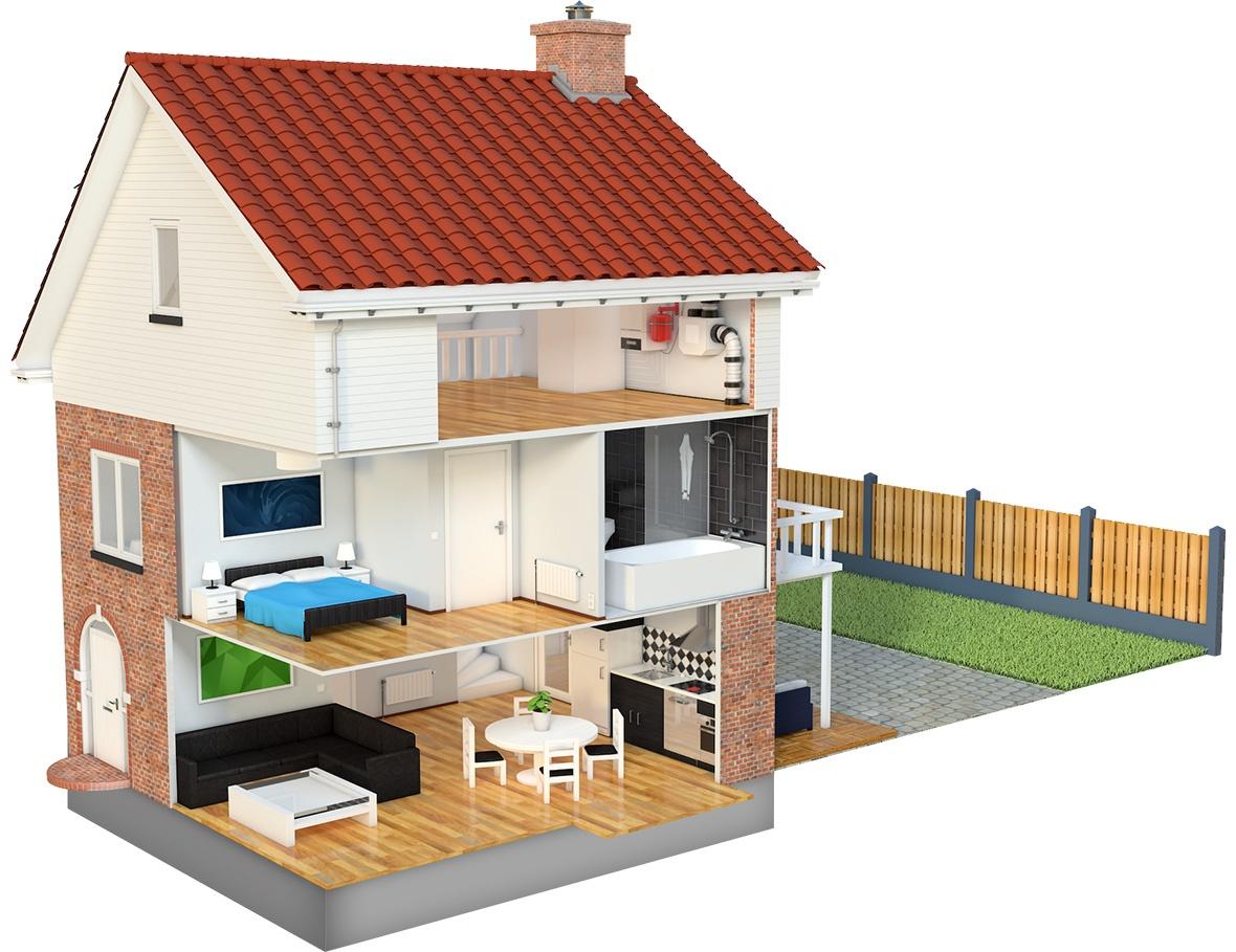 Uw huismeester 3d huis visualisatie luc versleijen for Plattegrond van je huis maken