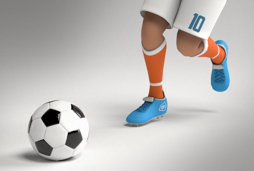 Albert Heijn, voetbalplaatjes game