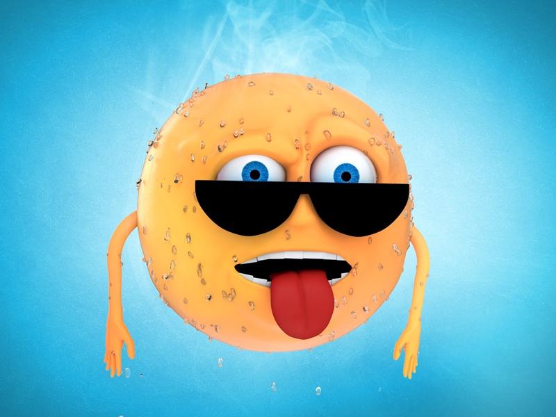 Heatsroke 3D Character