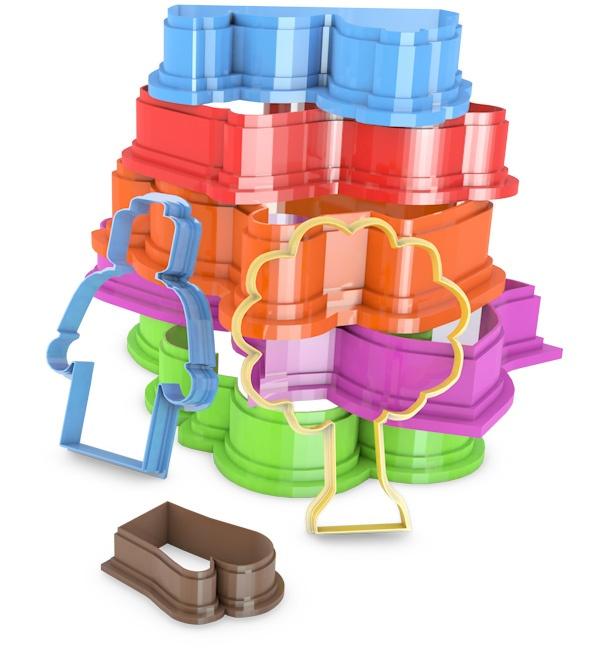 3D Geprinte Koekjes Uitstekers