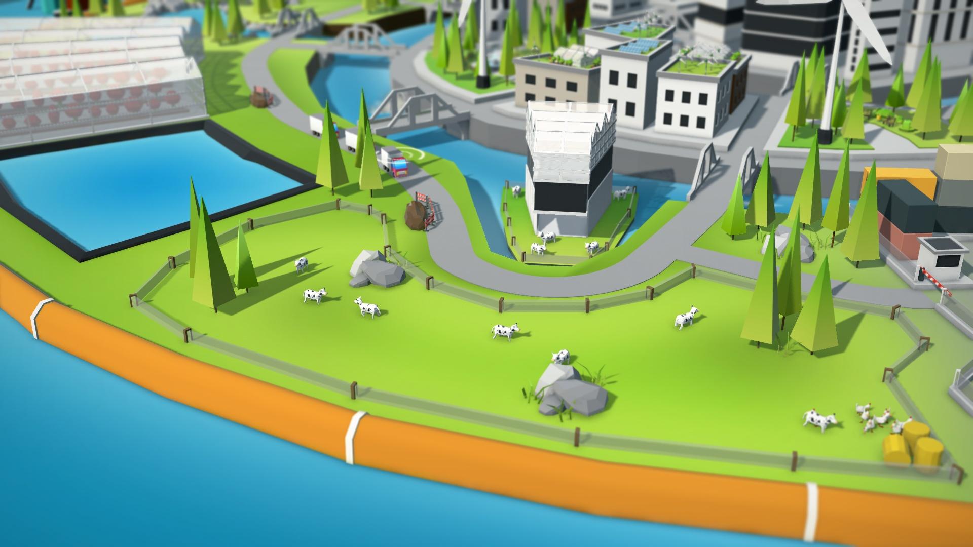 3D Illustratie boerderij