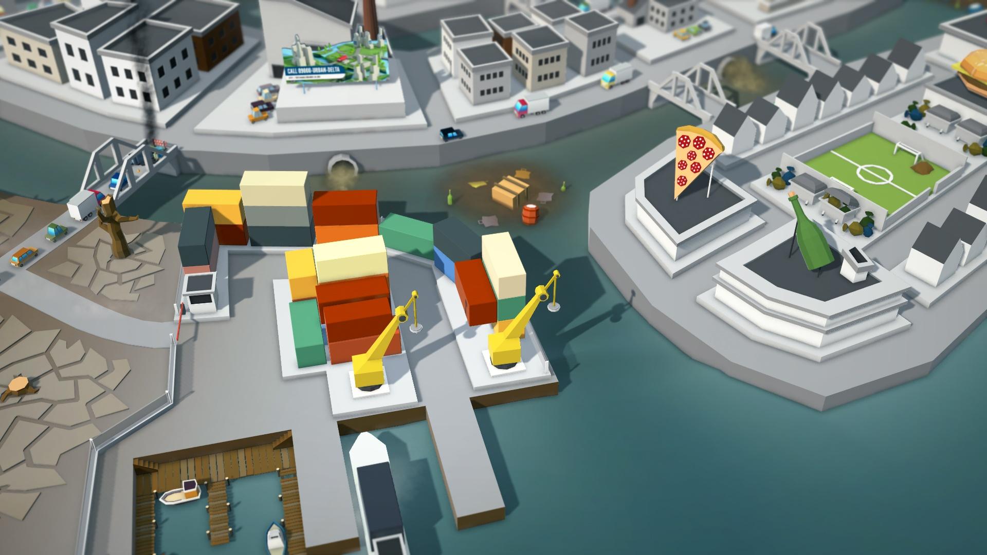 3D Illustratie Vervuilde wereld