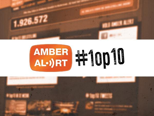 Amber Alert #1op10 Campagne, Website Ontwerp