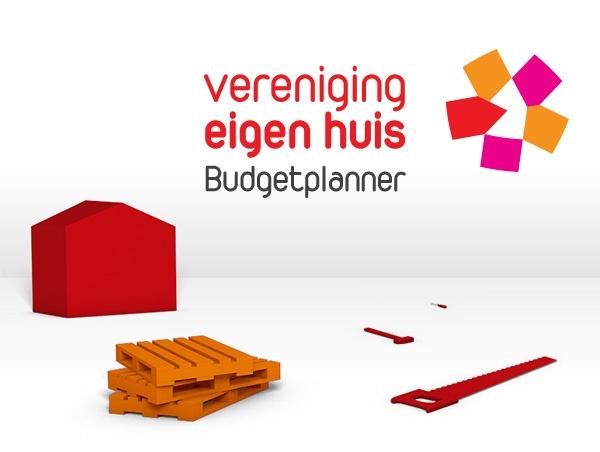 Vereniging Eigen Huis, De Budgetplanner, Website Ontwerp