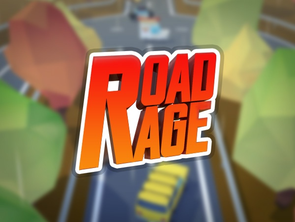 Road Rage 3D - Endless Racer. iOS Game