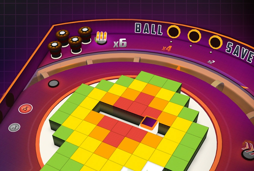 Super Hyper Ball 2, arcade game