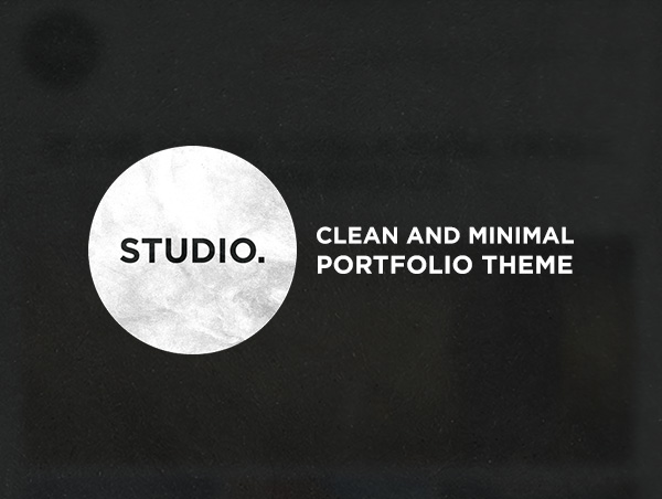 Studio, Wordpress Portfolio Theme